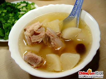 箩卜排骨汤