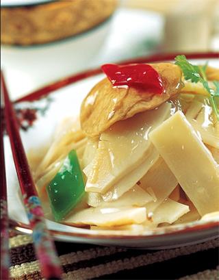清炒玉兰片