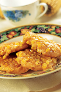 黄金粟米饼