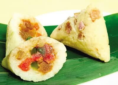 陈皮牛肉粽