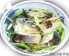 青蒜鲤鱼汤